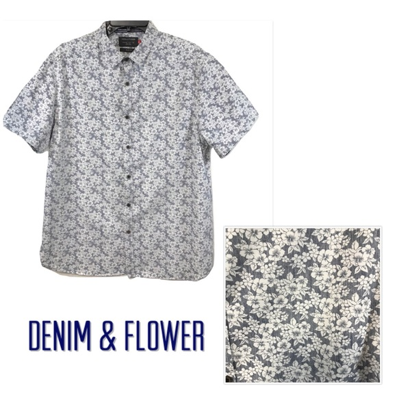 afd9bea4f5 Denim   Flower Other - Ricky Singh Denim   Flower Shirt